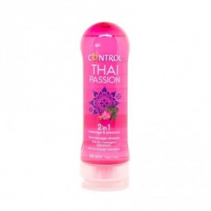 CONTROL THAI PASSION 2 IN 1 MASSAJE & PLEASURE GEL 200 ML