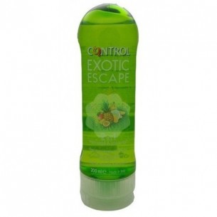 CONTROL EXOTIC ESCAPE 2 IN 1 MASSAJE & PLEASURE GEL 200 ML