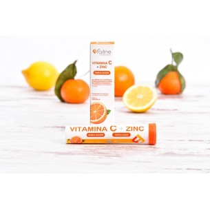 VITAMINA C Y ZINC  20 COMP. EFERVESCENTES FARLINE