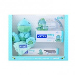 VITIS BABY PACK CEPILLO DENTAL + GEL CALMANTE  30 ML + GADGET + DEDAL