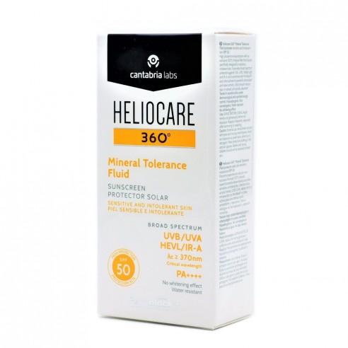 HELIOCARE 360º SPF 50 MINERAL TOLERANCE FLUID PROTECTOR SOLAR 50 ML