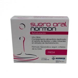 SUERO ORAL NORMON PACK  FRESA 250 ML 2 U