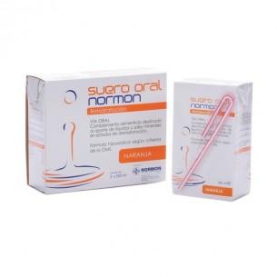 SUERO ORAL NORMON PACK  NARANJA 250 ML 2 U