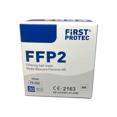 MASCARILLAS FFP2 FIRST PROTEC 20...