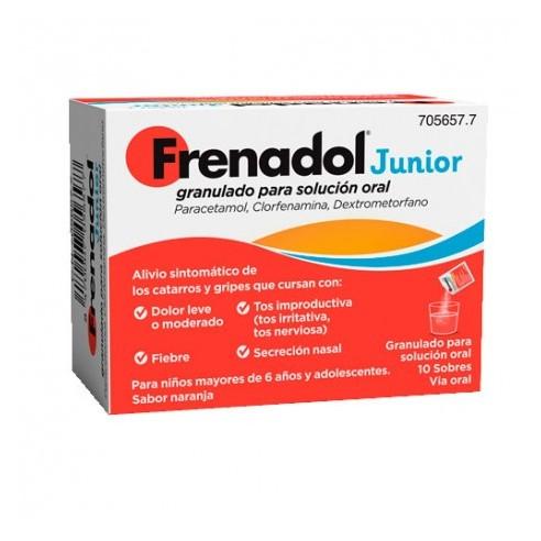 FRENADOL JUNIOR 10 SOBRES GRANULADO...