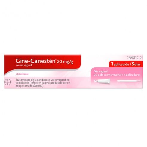 GINE CANESTEN 20 MG/G CREMA VAGINAL 20 G