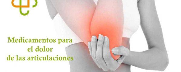 Medicamentos para dolor de articulaciones, artrosis y artritis