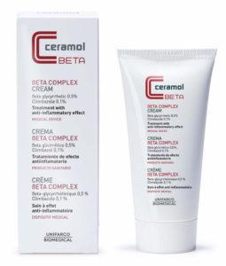 Usa crema beta complex Ceramol 311 para el Tratamiento natural de la dermatitis atópica.