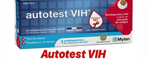 Autotest VIH de venta en farmacias para el autodiagnóstico de la infección por VIH
